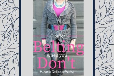 Tips for belting when you don't have a defined waist