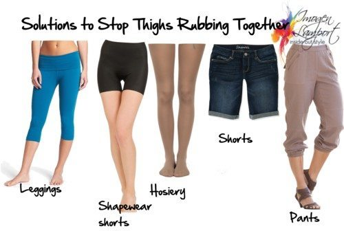 Solutions to Stop Thighs Rubbing