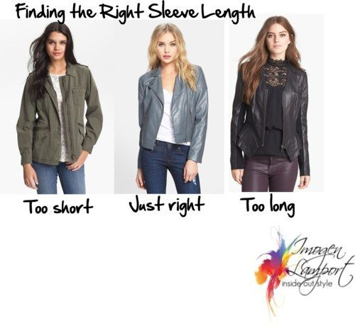 Finding the right sleeve length