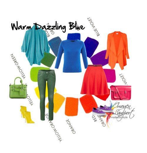 warm dazzling blue