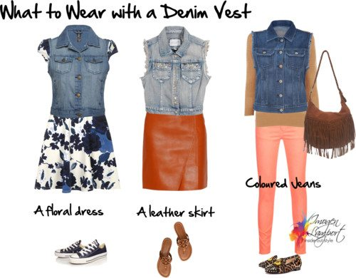What to Wear with a Denim Vest