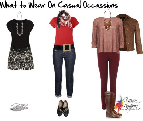 what to wear casually