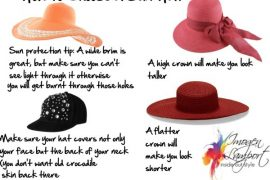 How to choose a flattering sun hat