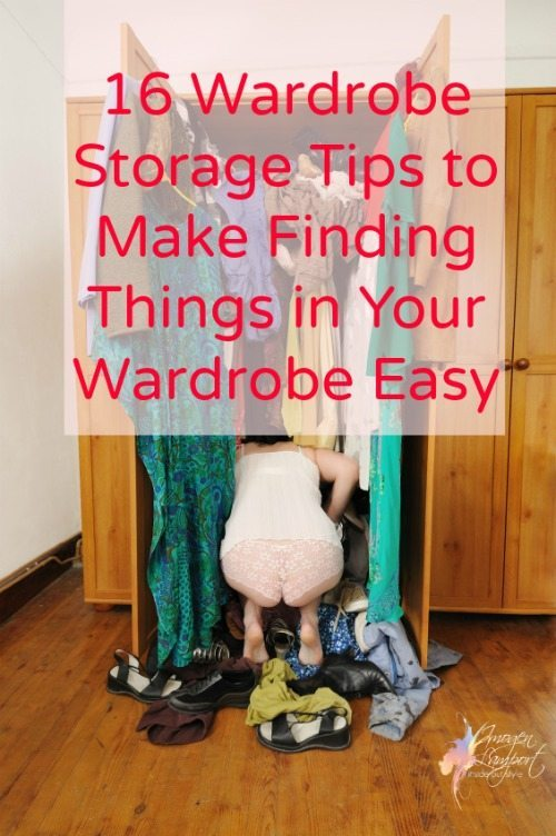 Wardrobe storage tips