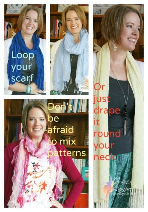 Wear a Scarf like Nina Proudman