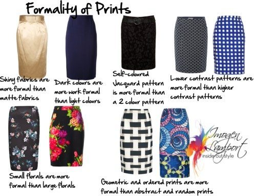 How Formal is That Print or Fabric?