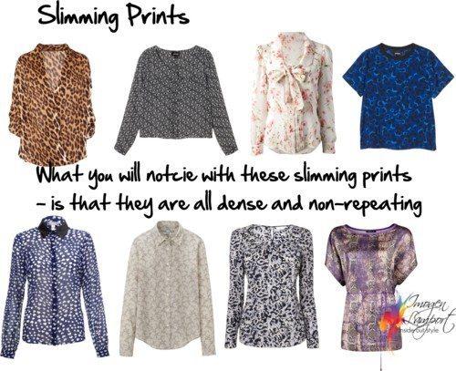 slimming prints