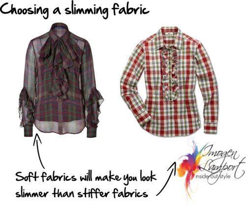 choosing a slimming fabric