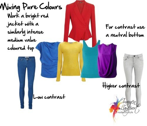 mixing pure colours