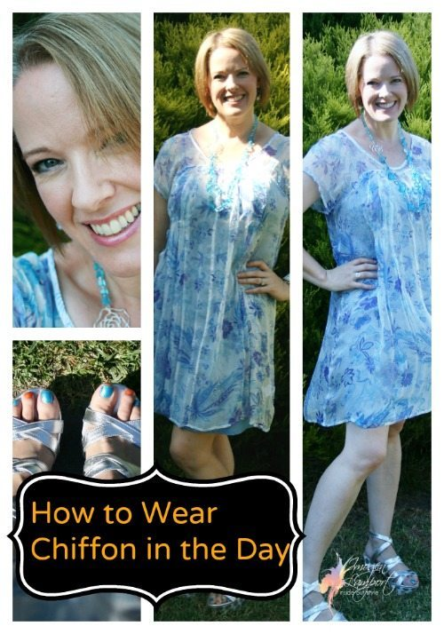 How to Wear Chiffon in the Daytime