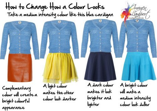 How to change how a colour looks
