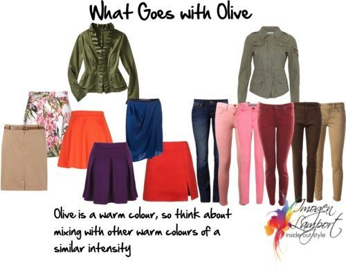 What Goes with Olive