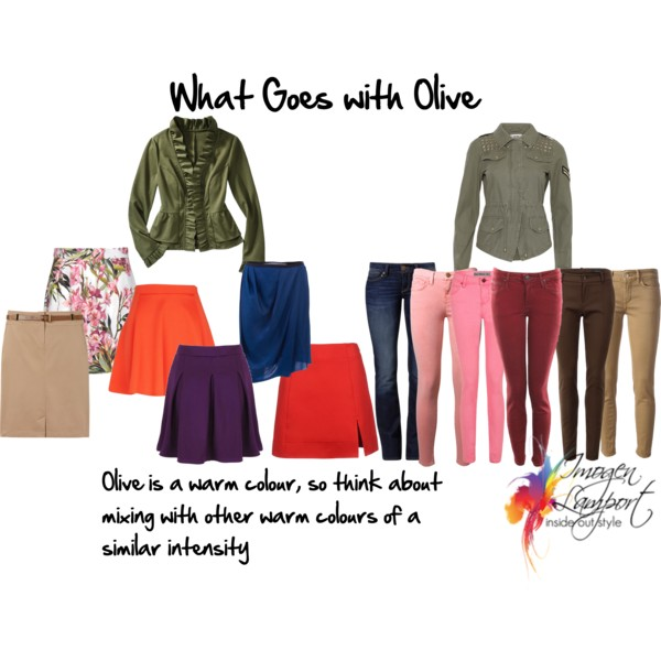 What to wear with olive - which colours play well and harmonise in outfits