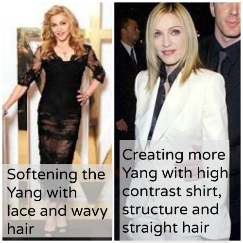 Madonna working the yang