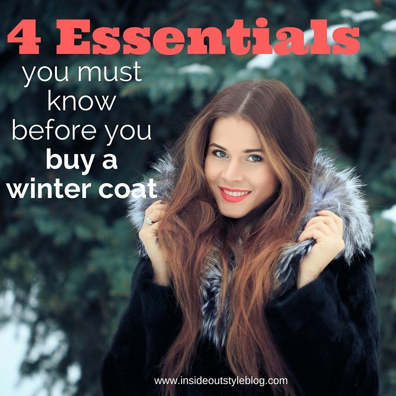 before you buy a winter coat