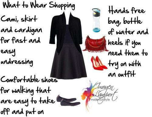 What to wear shopping