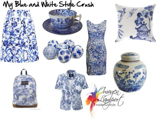 willow pattern style crush