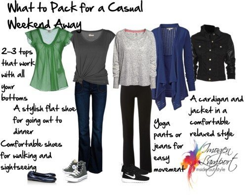 What to Pack for a Casual Weekend Away