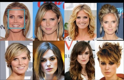 Image result for square face shape hairstyle