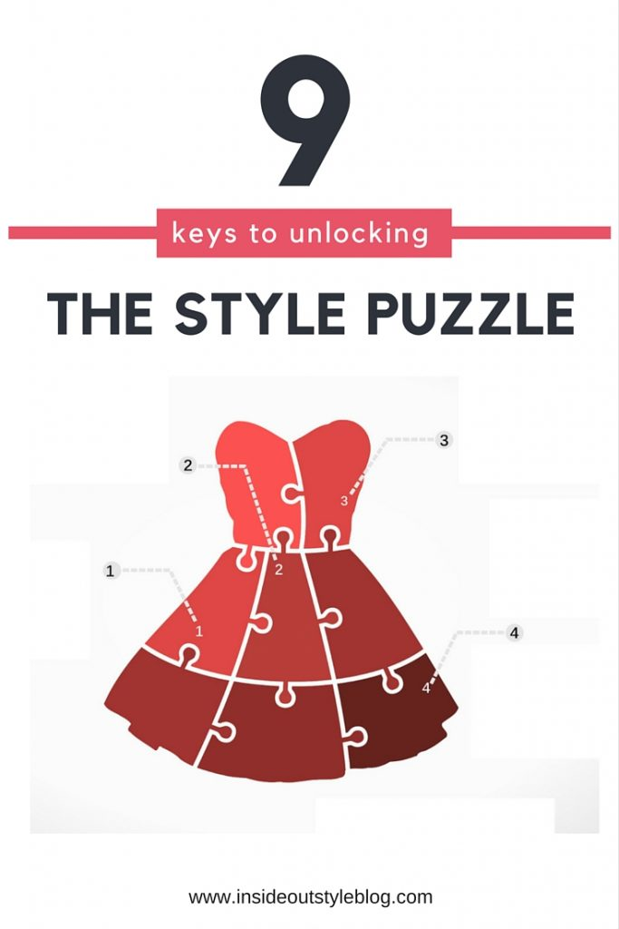 9 keys to unlocking the style puzzle - printable PDF