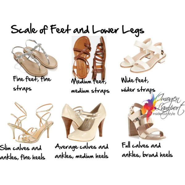 Scale of Feet and Lower Legs and choosing shoes