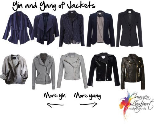 Yin and yang of jackets