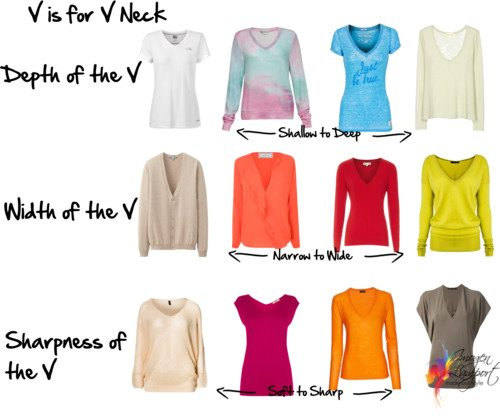 V is for V Neck