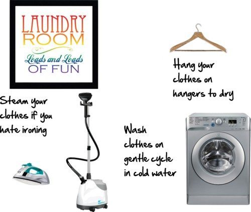 How to care for your clothes
