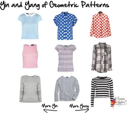 Yin and Yang of Geometric patterns
