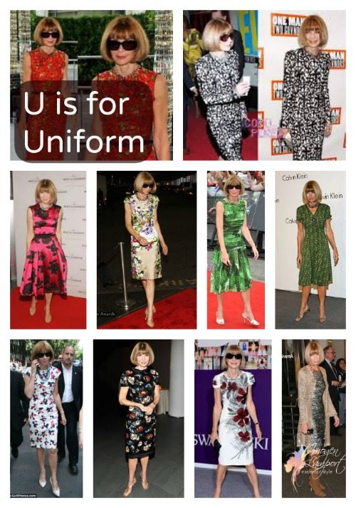 U is for Uniform