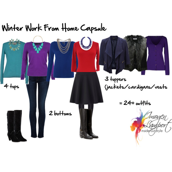 Winter wardrobe capsule work from home