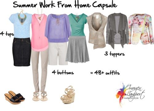 summer work from home capsule