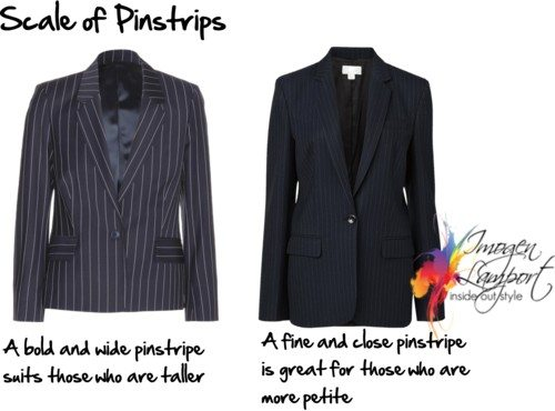 scale of pinstripes
