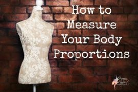 how to measure your body proportions