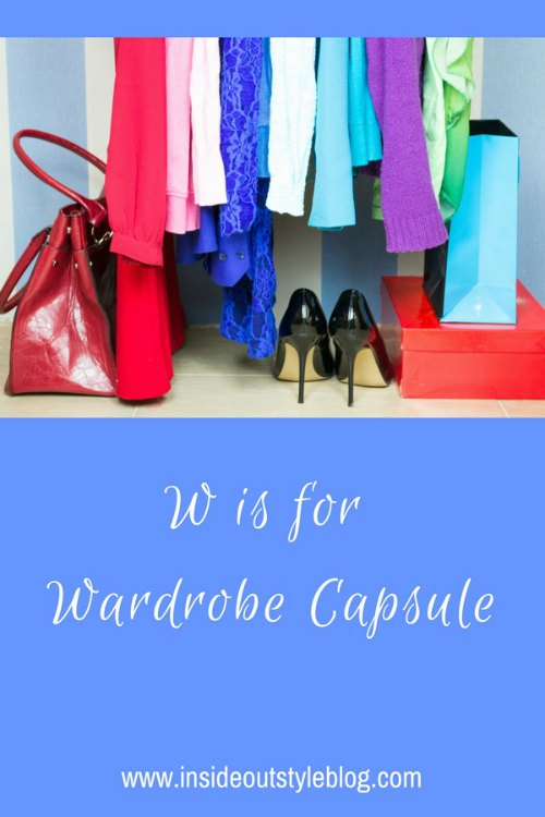 W is for Wardrobe Capsule