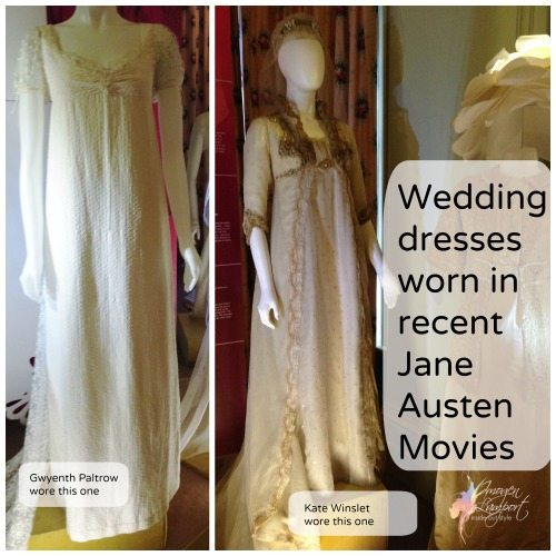 Jane austen movie wedding dresses