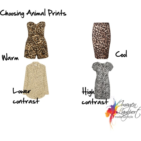 How to choose an animal print - warm or cool