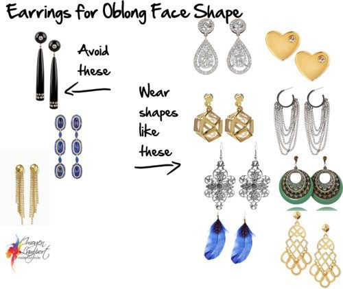 Choosing earrings that suit your oblong face shape how to choose earrings for your oblong face shape urmus Gallery
