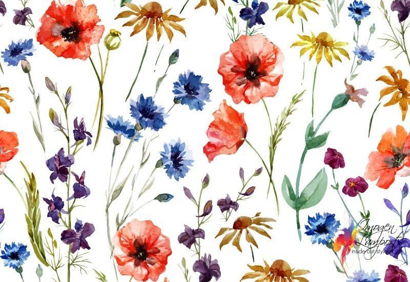 Floral Print Design Free