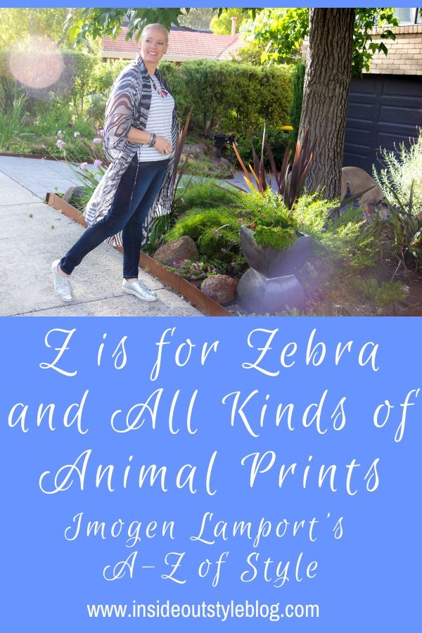 Z is for Zebra and all other kinds of animal prints - how to select the ones that flatter you