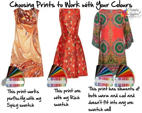 Choosing Prints and Patterns with the Right Colours