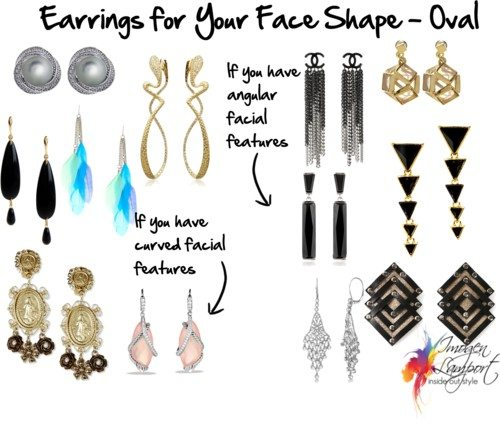 Earrings for Your Face Shape – Oval