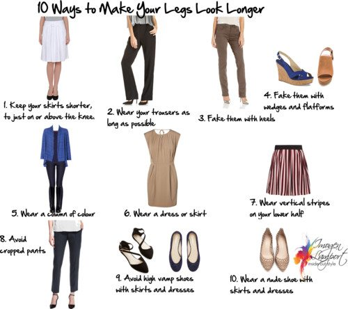 How to Make Short Legs Look Longer