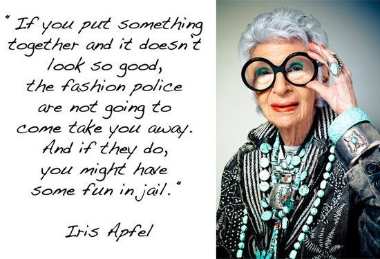 Iris Apfel Accessorizing