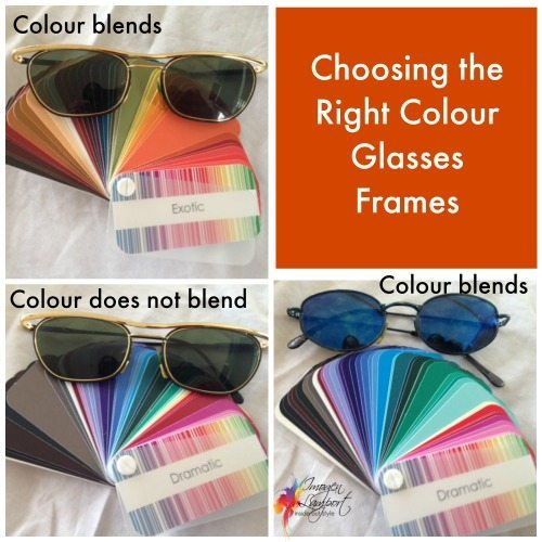 Choosing colour of your glasses frames