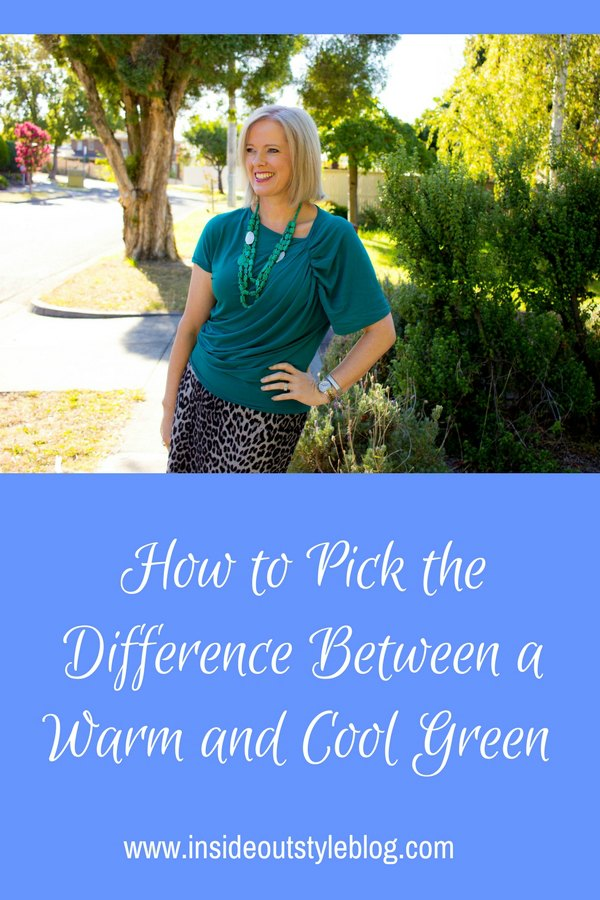 How to Pick the Difference Between a Warm and Cool Undertone Green
