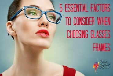 how to choose glasses frames