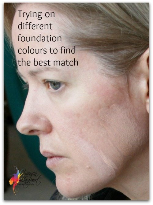 finding a foundation colour