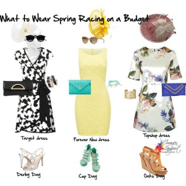 How to Create a Spring Racing Carnival Outfit on a Budget