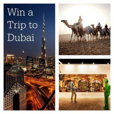 Win a trip to dubai